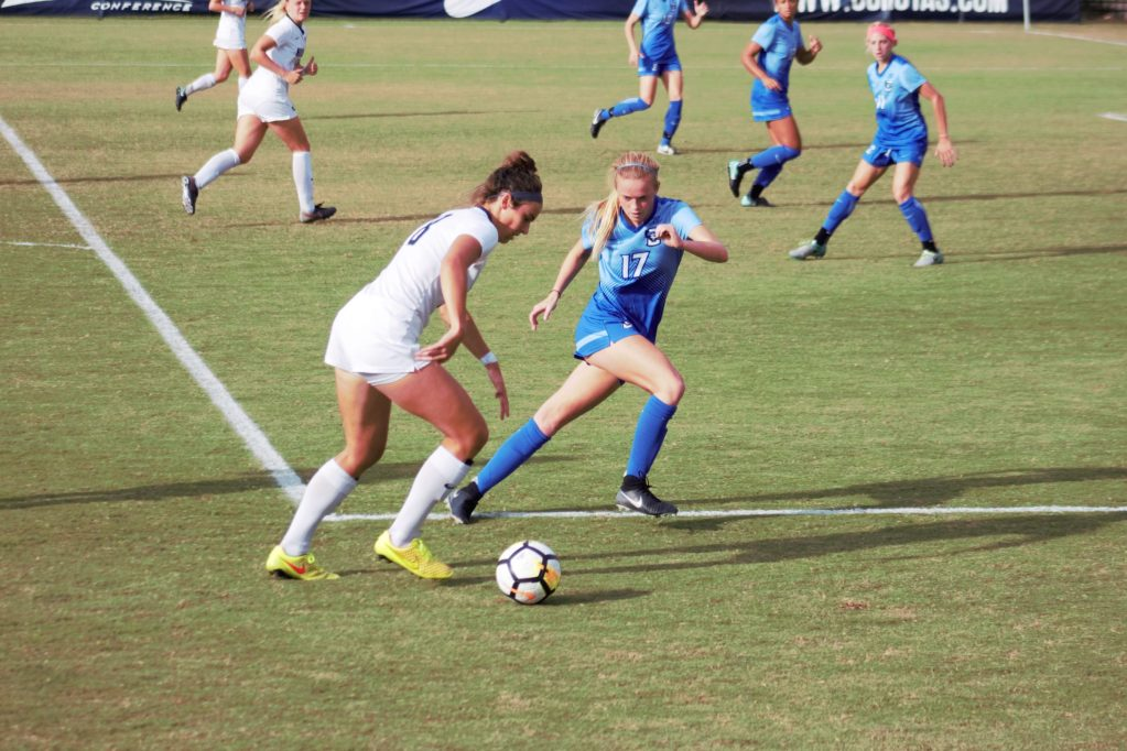 No. 15 women's soccer enters the home stretch of the regular season at Providence