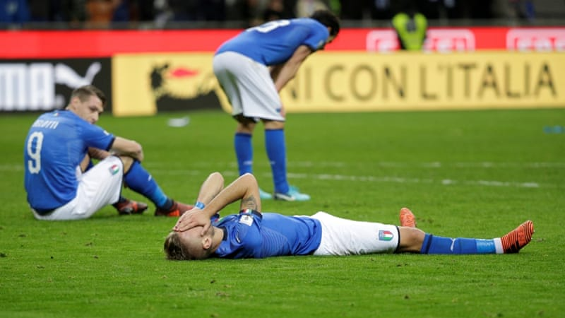 World Cup Qualifiers: Despair for Italy and Joy for Sweden