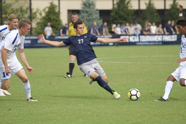 No. 18 Men's Soccer Hosts St. John's in Big East Semifinal