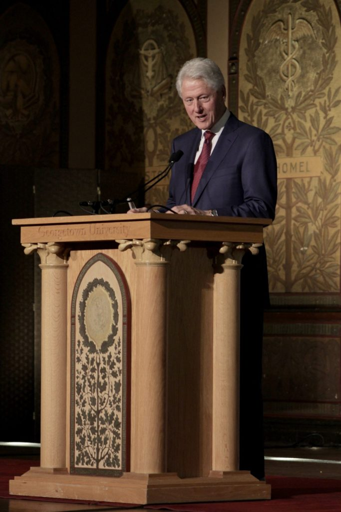 Georgetown Must Reckon With Bill Clinton's Past