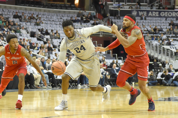 Tougher than the Storm: Men's basketball wins in double overtime to sweep St. John's