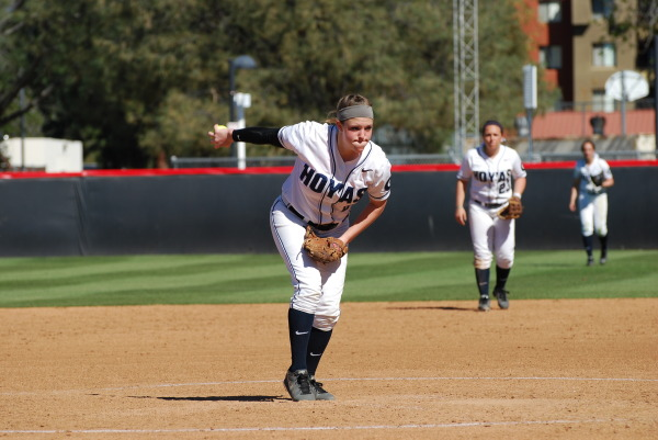 Slow start: Softball struggles on opening weekend