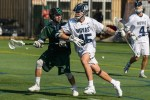 Men's lacrosse cruises past NJIT on senior day