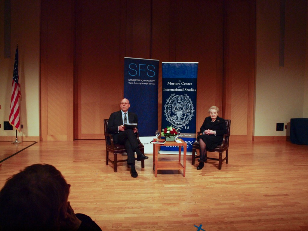 Albright Discusses New Book on Fascism