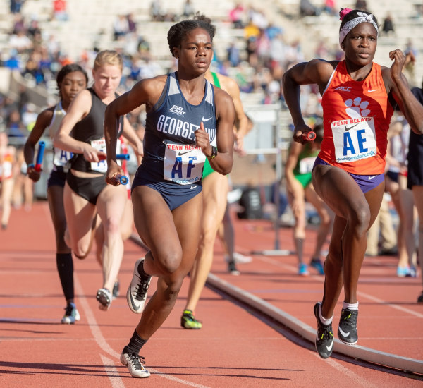 Track has Strong Showing at Penn Relays