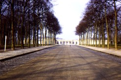 Le Grand Trianon of Versailles. Birthplace of Louis the XVI. The symmetry remains notable. Photo credit: Jan