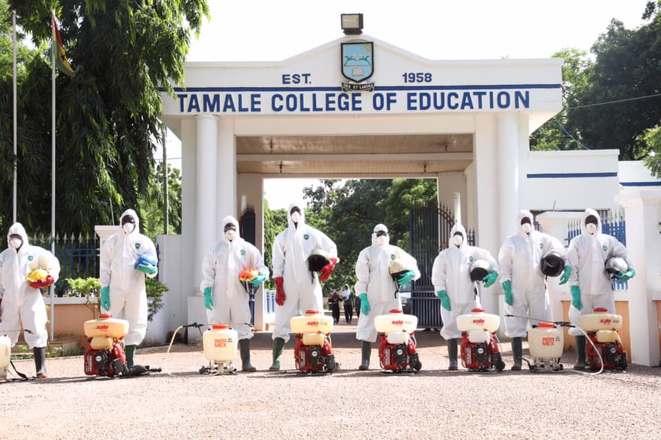 Zoomlion begins disinfection of colleges of education in Northern Region