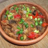 About Food - Ajapsandali (Georgian Eggplant Stew)