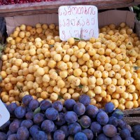 About Food - Fruit and Vegetable Market in Tbilisi