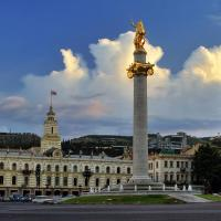 About History - Freedom Square in Tbilisi