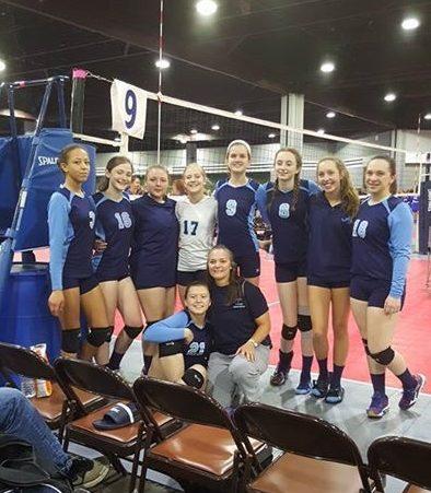 Georgia Adrenaline Volleyball Club, Team 15-1 at SRVA Regionals 2016