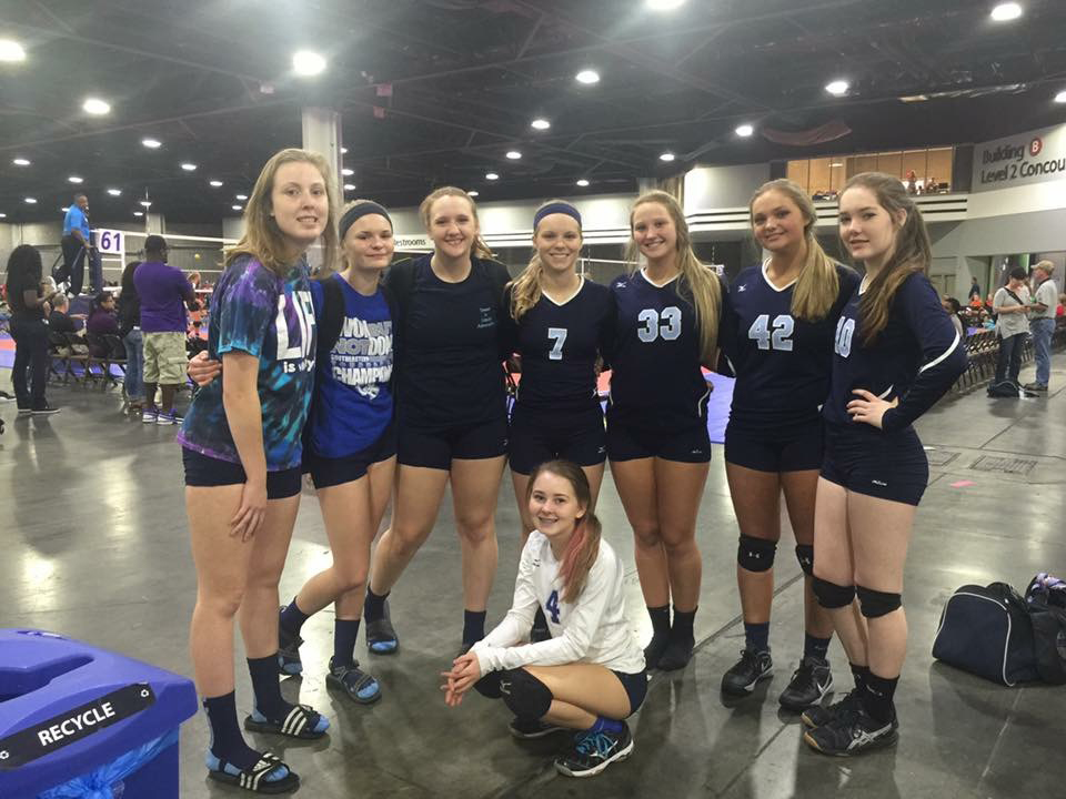 Georgia Adrenaline Volleyball Club, Team 16-3 at SRVA Regionals in Atlanta 2016