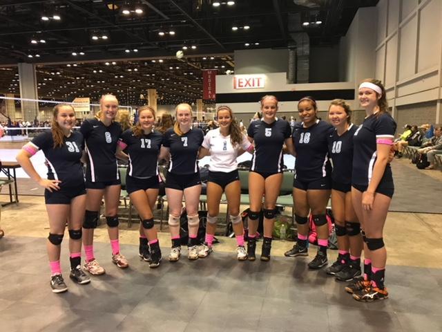 Georgia Adrenaline Volleyball Club, AAU Nationals 2017