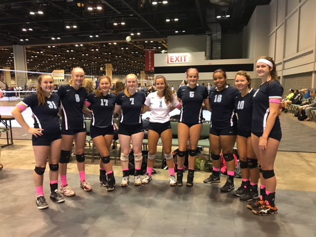 Georgia Adrenaline Volleyball Club, AAU Nationals 2017