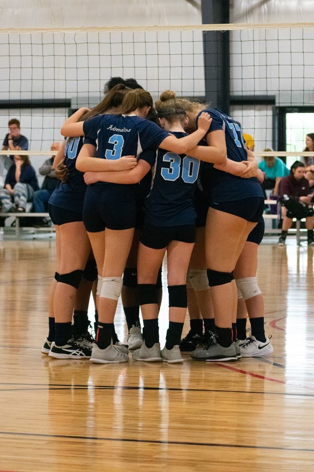 Georgia Adrenaline Volleyball Club, Team 17-Erica during the 2019 season