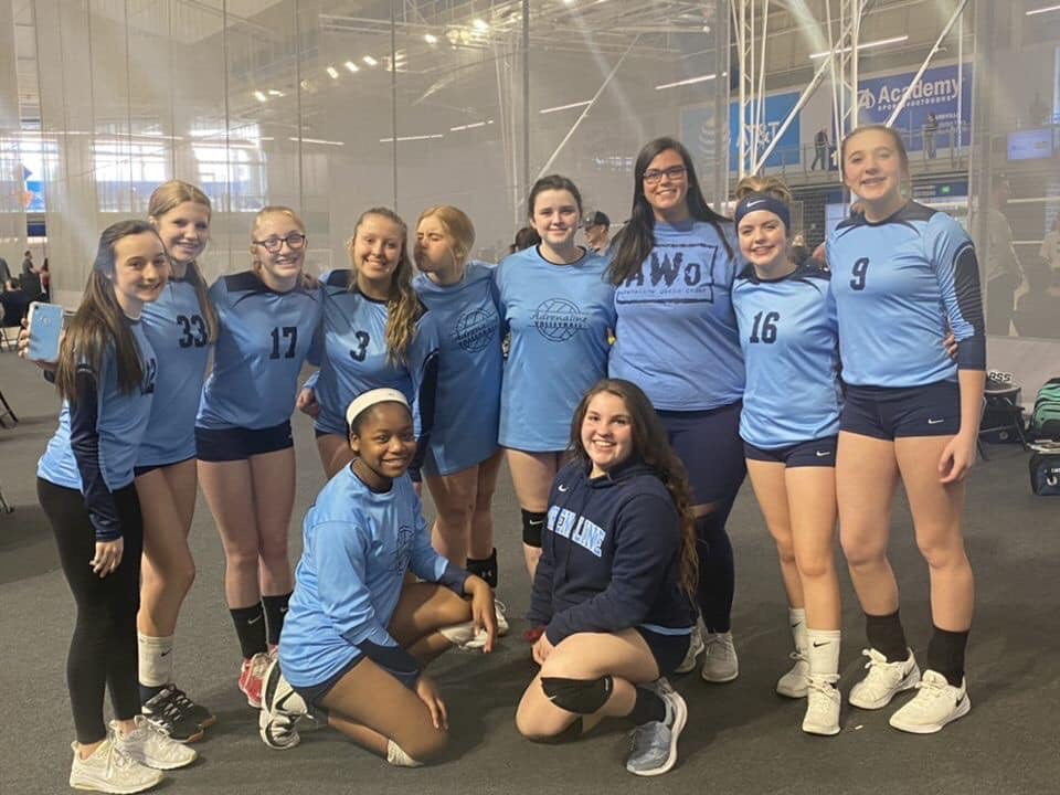Georgia Adrenaline Volleyball Club, Team 14-Chey, win 5th place at the 2020 Joust Challenge volleyball tournament