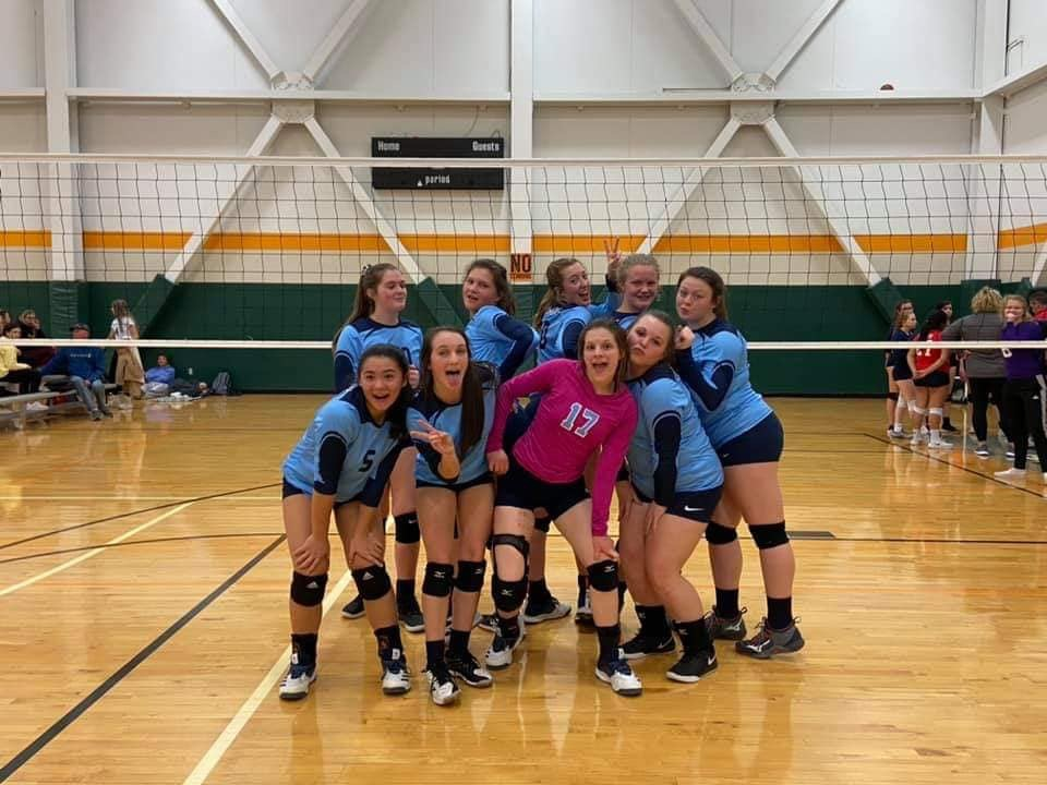 Georgia Adrenaline Volleyball Club, Team 15-Genia, wins 7th place at the Spikefest 2020 volleyball tournament