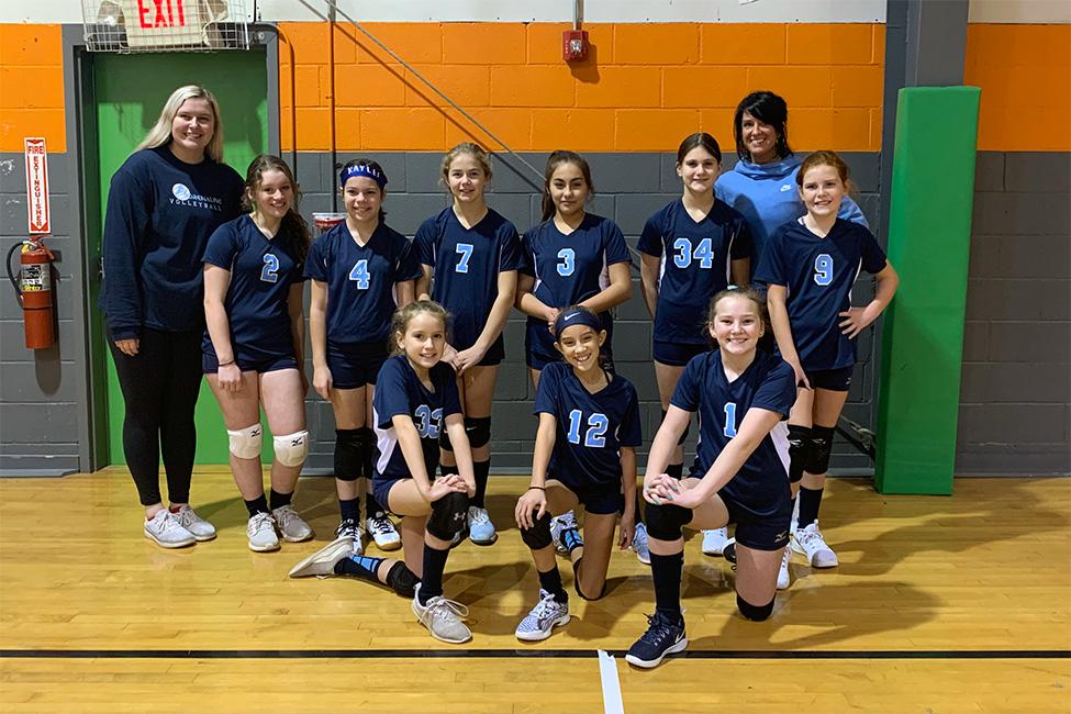 Georgia Adrenaline Volleyball Club, Team 12-Jamie in Canton, GA during the 2021 club volleyball season