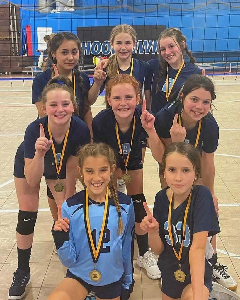 Georgia Adrenaline Volleyball Club, Team 12-Jamie take 1st place at the 2021 Murfreesboro Bash