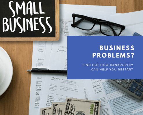 Georgia small business bankruptcy sign-up page