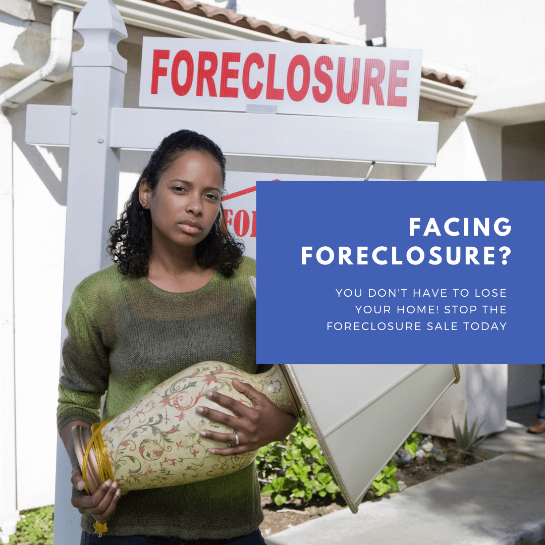 woman facing foreclosure in atlanta