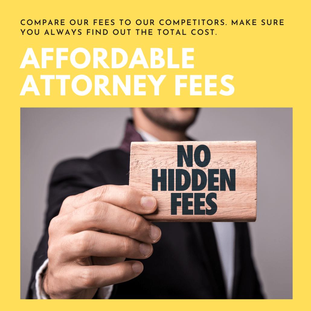 atlanta bankruptcy lawyer affordable legal fees