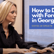 how to stp foreclosue in georgia lorena saedi typing bankruptcy lawyer