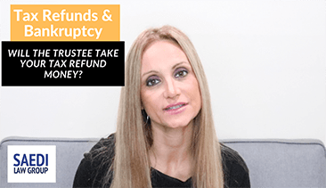 tax refunds and bankruptcy