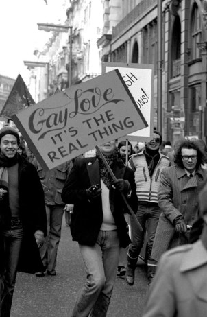 Gay Rights Protest in the 70s