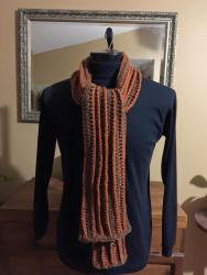 mens-scarf-grey-rust-121915