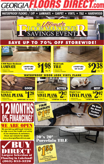Specials at our Lakeland store