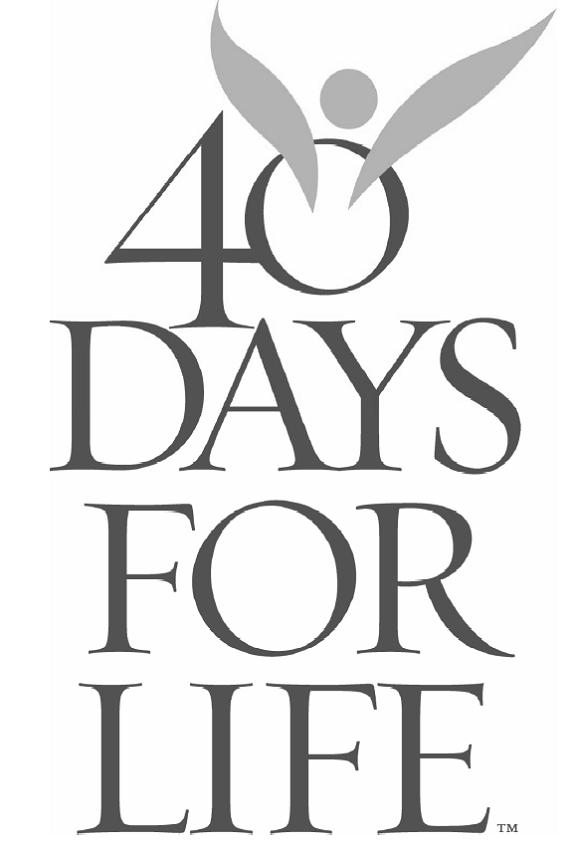 40 Days for Life Atlanta: One Baby Saved and One College Student Changed (1/2)