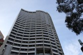 Harrry Seidler's No 1 Spring St, with its distinctive 'S' shape