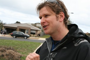 For Davies, doorknocking is one of the best ways to find out the concerns of the local community.