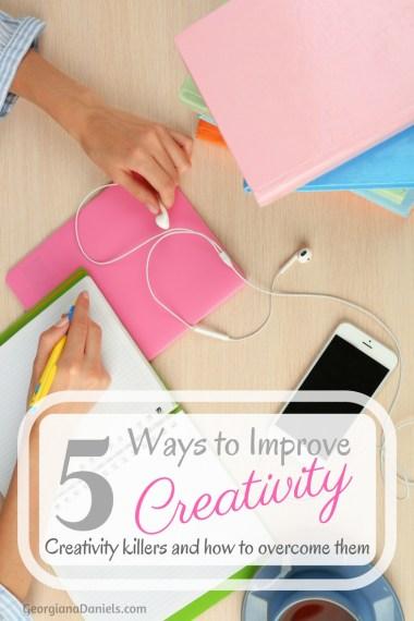 ways to improve creativity