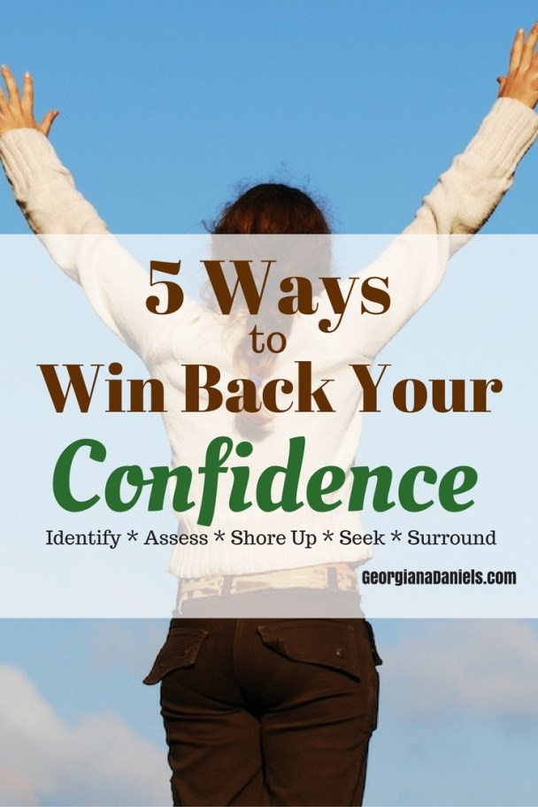 Have a series of failures poked holes in your confidence? Have a few rejections knocked you off your game? It's time to win back your confidence. In this post I share how I gained my confidence back---and you can do it too! http://wp.me/p7iWQm-3e