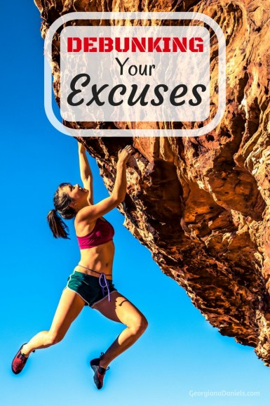 If you're ready to take charge of your goals then you need to debunk your excuses. It's time to conquer those excuses once and for all with these practical tips.