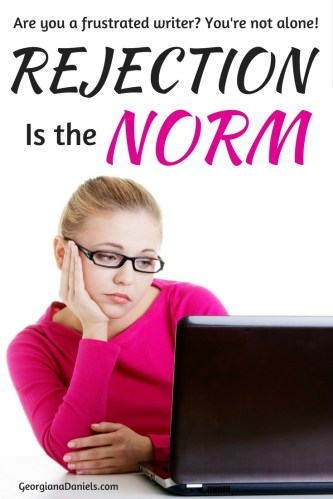 Are you frustrated with your writing projects getting turned down? You're not alone. Let's talk rejection!