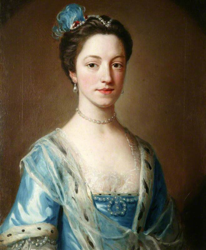 Fashionable Blues of the 18th century