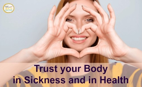 trust your body today