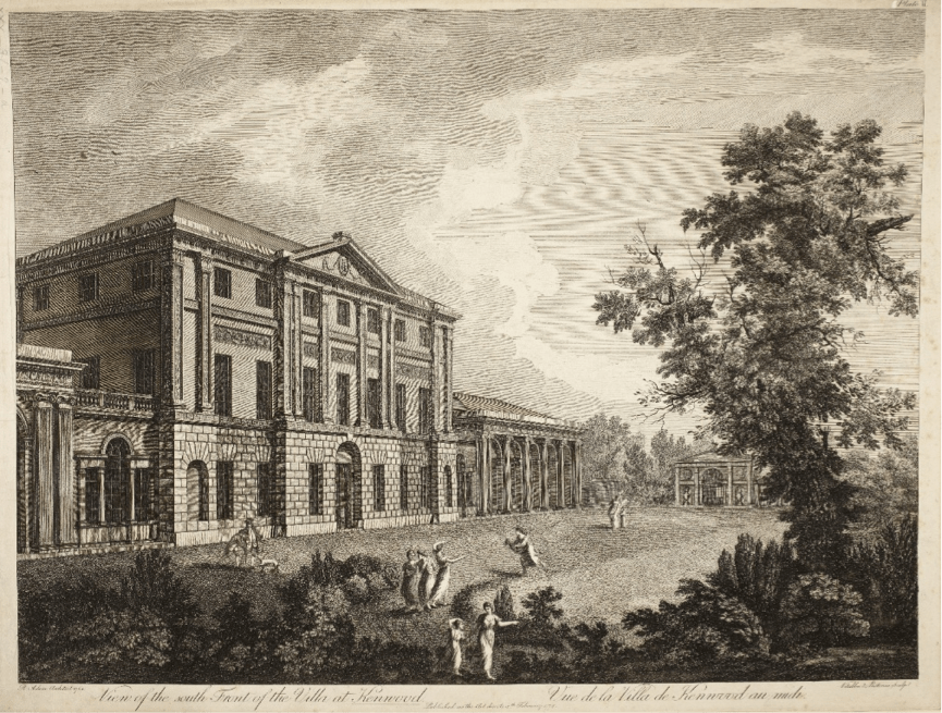 George III's Visit to Kenwood House in 1794