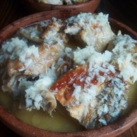 SHKMERULI - CHICKEN COOKED IN MILK AND GARLIC