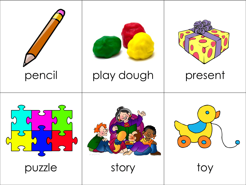 Vocabulary Cards Toys Your Child Should Know Forever