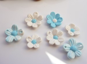 Handmade Polymer Clay flower beads