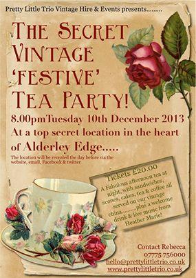 Secret Vintage Tea Parties
