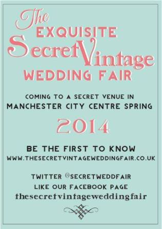 Secret Vintage Wedding Fair