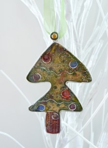 Quirky Christmas Tree Decoration