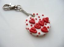 Valentine I love u keyring