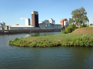 A factory along the Main, we saw very few, though I expect we sailed past many at night.