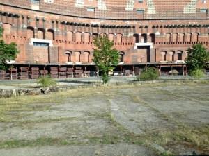 Hitler's crumbling coliseum